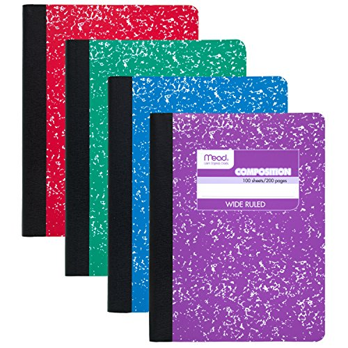 mead-09918-composition-book-100-sheets-wide-ruled-assorted-colors-24-pack-by-mead