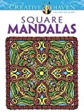 Square Mandalas (Creative Haven Coloring Books)