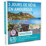 SMARTBOX - Coffret Cadeau - 3 JOURS DE RÊVE EN AMOUREUX - 500 séjours : maisons d'hôtes, hôtels de charme, auberges, hôtels 3* ou 4*