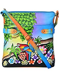 LEATHER MADE Women's Sling Bag (Multi-Coloured, MM5674.01)