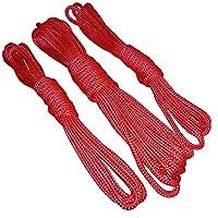 Cuerdas De Bondage Rojo 1x6m + 2x3m o 2x6m + 1x12m juego BDSM juego erótico de