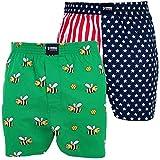 Happy Shorts 2 Webboxer Herren Boxer Motiv Boxershorts Farbwahl, Grösse:M - 5-50, Präzise Farbe:Design 2