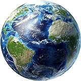 Wandaufkleber, erthome 3D Planet fluoreszierende Erde Sonne Wall Sticker Aufkleber Kinderzimmer Dekor (A Erde)