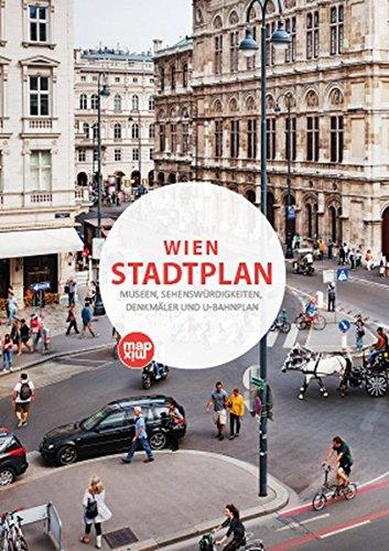 Wien Stadtplan: Museen, Sehenswürdigkeiten, Denkmäler und U-Bahnplan