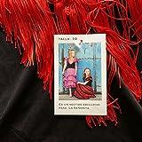La Senorita Spanische Flamenco Kleid / Kostüm - für Mädchen / Kinder - Schwarz / Rot (Größe 92-98 - Länge 65 cm- 3-4 Jahr, Mehrfarbig)