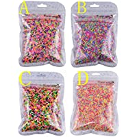 100g Colorful Fake Candy Sweets Sugar Sprinkles Decorations for Fake Cake Dessert Simulation Food (C)
