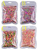 100g Colorful Fake Candy Sweets Sugar Sprinkles Decorations for Fake Cake Dessert Simulation Food (D)