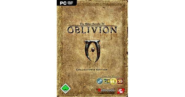 The Elder Scrolls Iv Oblivion Collector S Edition Dvd Rom Amazon De Games