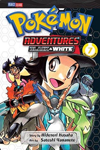 Pokemon Adventures Black & White 7 by Hidenori Kusaka (23-Apr-2015) Paperback
