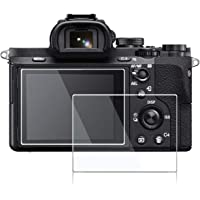 M.G.R.J® Tempered Glass Screen Protector for Sony Alpha a7RIII A7R3 A9 A7II A7RII A7SII A77II A99II a7R Mark III 3 a7III…