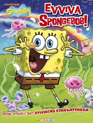 Evviva SpongeBob! Con adesivi