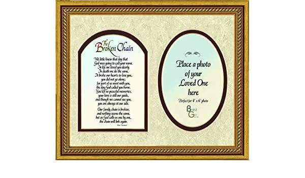 Outstanding Broken Chain Poem Picture Frame Gallery - Frames Ideas ...