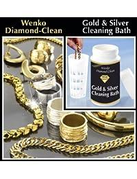Wenko 3085610500 Nettoyant pour bijoux en or et argent Inclus bain et panier d'immersion