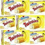 Hostess Twinkies Banana x 6 Packs - 60 Cakes