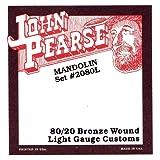 John Pearse 2080L Jeu de cordes pour mandoline light Naturel