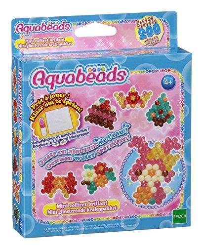AQUA BEADS Kreatives Set von Aquabeads–31159–glänzender Mini-Koffer (Französische Version)