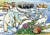 Cobble Hill Arctic Adventure Jigsaw Puzzle, 35-Piece