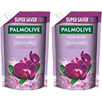 Palmolive Naturals Black Orchid & Milk Liquid Hand Wash, 750ml Refill Pack, Wash Away Germs, Refreshing Fragrance (Pack…