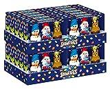 Smarties Nestlé Multi Klapper Mix, Schokofiguren aus Milchschokolade mit Schokolinsen, 63 g