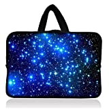 Picture Of Blue stars Universal Sleeve Case Bag + Handle For 7\