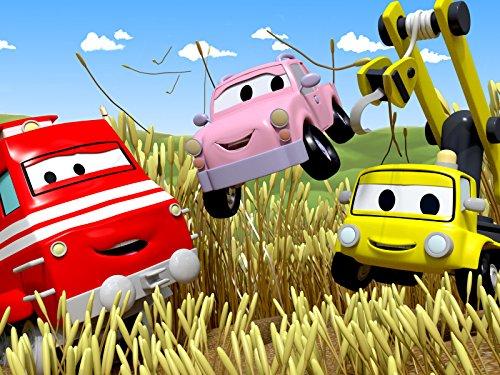 Troy der Zug in Autopolis : Die kleinen Autos SPIELEN VERSTECKEN ! / Peter das POSTAUTO verteilt GEBURTSTAGS Party Einladungen !