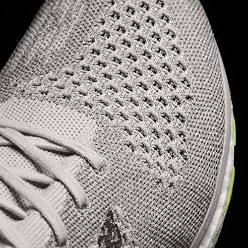 adidas Adizero Prime, Chaussures de Running Mixte Adulte, Gris, 43.3 EU multicolore (Griuno / Ftwbla / Gritre)