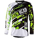 Broken Head MX Jersey Green Thunder | Moto-Cross Jersey - BMX - Offroad - Trikot - Racing Shirt (L)