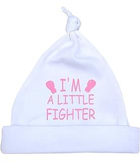 7.5lb VARIOUS COLOURS Premature Baby Clothes Plain Coloured Knotted Hat 1.5lb
