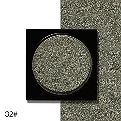 9th Avenue 32: Ucanbe Shimmer Eye Shadow Single Palette 26 Colors DIY Pressed Eyeshadow Lasting Pigment Matte Nude Natural Minerals Make Up