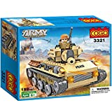 COGO Army CG3321 Tank Educational DIY Construction Brick Toy 192 Pieces