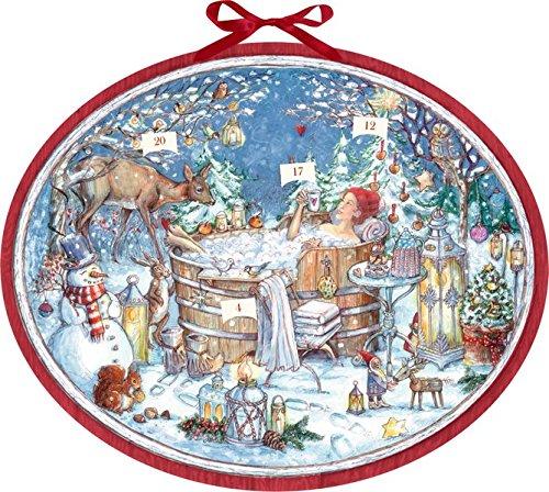 Zettelkalender - Nur für mich! Adventskalender: 24 Wohlfühltipps für einen entspannten Advent