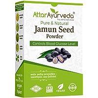 Attar Ayurveda Jamun Seed Powder for Diabetes - 500 g