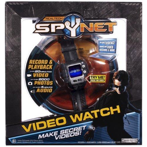 Spy Net: Secret Mission Video Watch by Jakks TOY (English Manual)