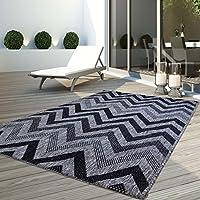 1104325a7db5b6 CC Teppich Flachflor Modern Outdoor fest Geknüpft Outside verschiedene  Designs NEU, Größe in cm: