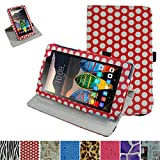 Lenovo TAB3 A7-10 / Tab 3 Essential Rotating Case,Mama Mouth 360 Degree Rotary Stand With Cute Lovely Pattern Cover For 7
