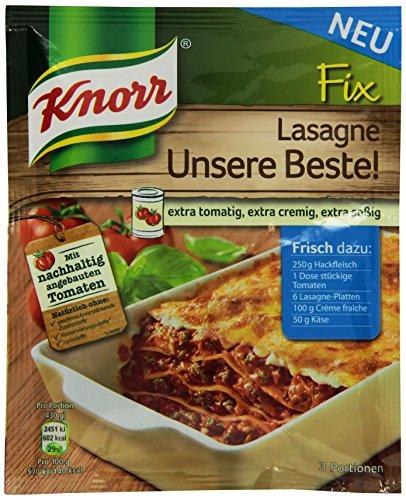 Knorr Fix Lasagne Unsere Beste 3 Portionen, 18er Pack