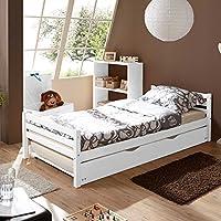 Dreams4home Schlafzimmerkombination Massivholzbett 120