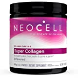 Neocell Laboratories Super Collagen Type 1 & 3 Powder - 6600 Mg - 7 Oz - Radiant Skin,Thicker Hair,Stronger Nails & Joints