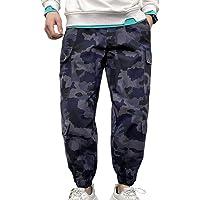 Muscle Alive Uomo Baggy Hip Hop Carico Pantaloni per Ragazzi Gli Sport Abbigliamento di Strada e Skateboard Jogging