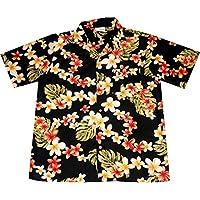 "Camicia Hawaiiana / Hawaiana ""Summer Flowers (black)"", taglia M –"