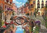Gibsons Paris und Venedig Puzzle (4 x 500 Teile)