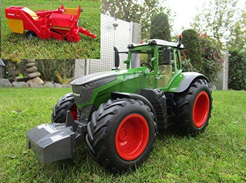RC Traktor Fendt 1050 Vario Anhänger-Kartoffelvollernter 1:16 Top 405035-H 5*