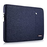 Laptop Sleeve 13 Inch Case Bag, Compatible 2018-2020 MacBook Air A2179 A1932, 13 Inch MacBook Pro A2251 A2289 A2159 A1989 A1706 A1708, Water-Resistant Notebook Cover with Pocket, Blue