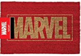 Marvel Logo Felpudo, fibra de coco, multicolor..
