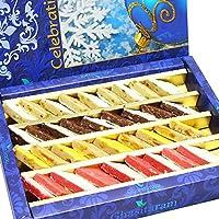 Ghasitaram Gifts Sweets - Assorted Irish Kaju Katlis 800 gms