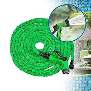 Gem Supplies BN5434 – Manguera Extensible, 30 m, Color Verde