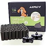 Bolsas Caca Perro, Bolsas para excrementos de Perro, Poop Bag para Mascotas Domésticos de 48 Rolls, Total 720 Bolsas con 2 Di