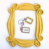 MARCO para poner en la mirilla de la puerta de la entrada y pequeña réplica en LLAVERO. Present for your best friends.