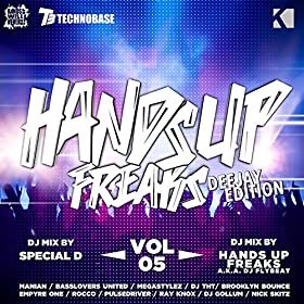 Various Artists-Hands Up Freaks, Vol. 5 (Deejay Edition)