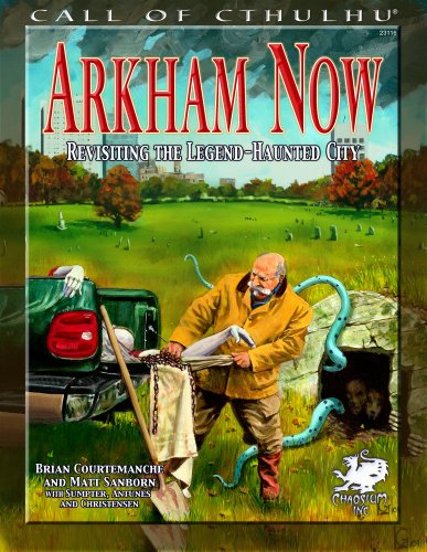 ARKHAM NOW (Call of Cthulhu Roleplaying.)